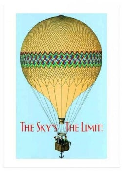 Hot Air Balloon Graduation Greeting Card (Cards)