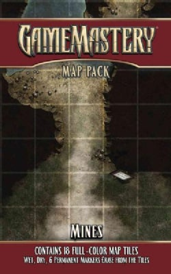 Gamemastery Map Pack: Mines (Cards)