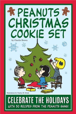 Peanuts Christmas Cookie Set: Celebrate the Holidays With 50 Recipes from the Peanuts Gang (Other book format)