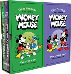 Walt Disney's Mickey Mouse Color Sundays: Call of the Wild and Robin Hood Rides Again (Hardcover)