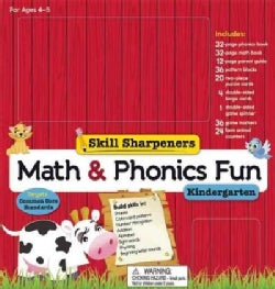 Math & Phonics Fun--Kindergarten (Paperback)
