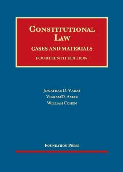 Constitutional Law: Cases and Materials (Hardcover)