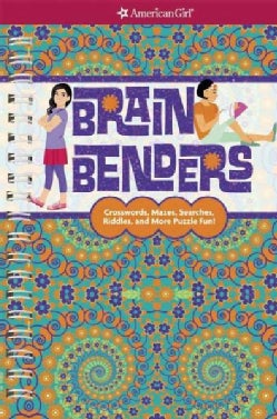 Brain Benders: Crosswords, Mazes, Searches, Riddles, and More Puzzle Fun! (Paperback)