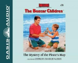The Mystery of the Pirate's Map: Library Edition (CD-Audio)