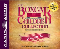 The Boxcar Children Collection: The Mystery of the Pirate's Map / the Ghost Town Mystery / the Mystery in the Mall... (CD-Audio)