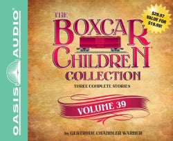 The Boxcar Children Collection: The Great Detective Race / The Ghost at the Drive-in Movie / The Mystery of the Tr... (CD-Audio)