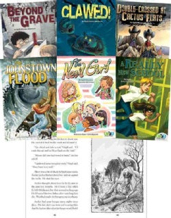 Up2u Adventures: A Really New School / the New Girl / the Johnstown Flood / Douple-crossed at Cactus Flats / Claw... (Hardcover)