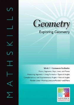 Geometry: Unit 1: Exploring Geometry (CD-ROM)