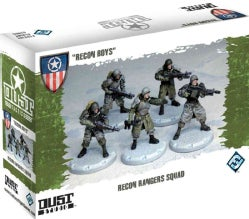 Dust Tactics: Recon Boys (Novelty book)