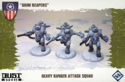 Dust Tactics Heavy Ranger Attack Squad: Grim Reapers (Novelty book)