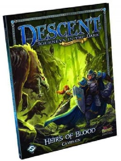 Descent, Journeys in the Dark - Heirs of Blood Campaign Book (Hardcover)