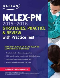 NCLEX-PN 2015-2016 Strategies, Practice, & Review: With Practice Test (Paperback)