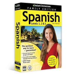 Instant Immersion Spanish Leves 1, 2 & 3: Latin American: Family Edition