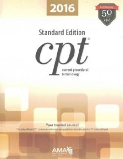 CPT 2016 Standard Edition (Paperback)