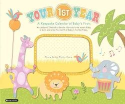 Your 1st Year: A Keepsake Calendar of Baby's Firsts (Paperback)