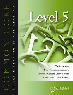 Common Core Skills & Strategies for Reading, Level 5 (Paperback)