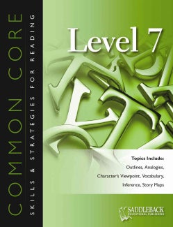 Common Core Skills & Strategies for Reading, Level 7 (Paperback)