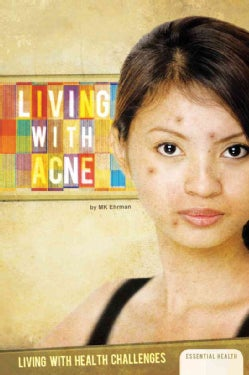 Living With Acne (Hardcover)