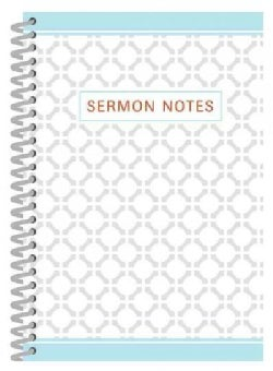 Sermon Notes: Cover 1 (Paperback)