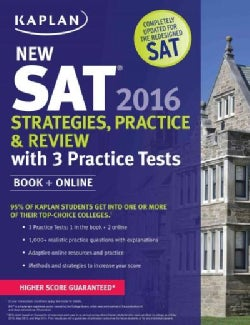 New SAT + Online: Strategies Practice and Review (Paperback)
