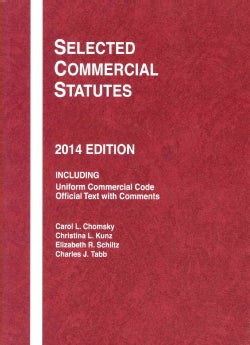 Selected Commercial Statutes 2014 (Paperback)