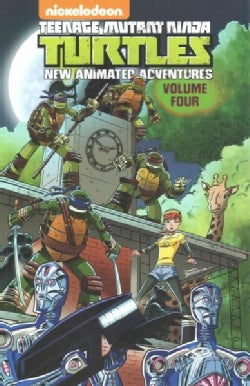 Teenage Mutant Ninja Turtles New Animated Adventures 4 (Paperback)