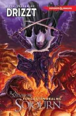 Dungeons & Dragons The Legend of Drizzt 3: Sojourn (Paperback)