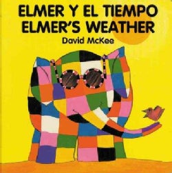 Elmer's Weather/Elmer Y El Tiempo (Board book)
