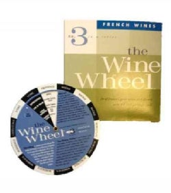 French Cuisine Wine Wheel (Paperback)