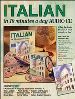 ITALIAN in 10 minutes a day AUDIO CD