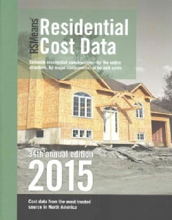 RSMeans Residential Cost Data 2015 (Paperback)