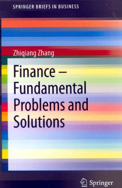 Finance - Fundamental Problems and Solutions (Paperback)