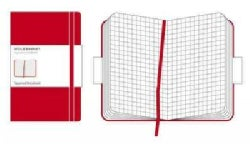 Moleskine Squared Notebook Large, Red (Notebook / blank book)