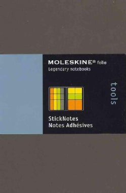 Moleskine Folio Tools Stick Notes (Notebook / blank book)