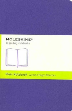 Moleskine Notebook Plain Brilliant Violet (Notebook / blank book)