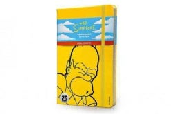 The Simpsons Notebook: Large, Ruled, Yellow (Notebook / blank book)