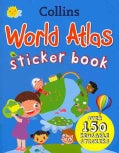Collins World Atlas Sticker Book (Paperback)