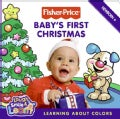 Baby&#39;s First Christmas: Learning About Colors (Board book)