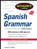 Schaum's Outline of Spanish Grammar (Paperback)