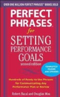 Perfect Phrases for Setting Performance Goals (Paperback)