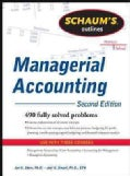 Schaum's Outlines Managerial Accounting (Paperback)
