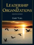 Leadership in Organizations (Hardcover)