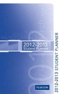 Premier 2012-2013 Student Planner