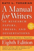 A Manual for Writers of Research Papers, Theses, and Dissertations: Chicago Style for Students and Researchers (Paperback)