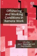 Offshoring and Working Conditions in Remote Work (Hardcover)