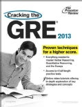 Cracking the GRE 2013 (Paperback)