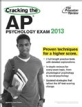 Cracking the AP Psychology Exam, 2013 (Paperback)