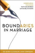 Boundaries in Marriage (Hardcover)