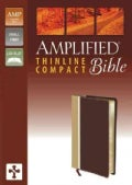 The Amplified Bible: Amplified, Camel/Burgundy, Italian Duo-Tone, Thinline (Paperback)