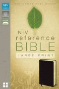 Holy Bible: New International Version, Burgundy, Bonded Leather Reference Bible (Paperback)